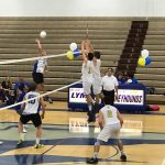 Bishop Moore Catholic High School Boys Varsity Volleyball falls to Lyman High School 3-1