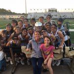 Girls' Varsity Lacrosse beat Olympia High School 21-11 in the District Semi