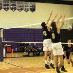 Bishop Moore Catholic High School Boys Varsity Volleyball beat Timber Creek High School 3-0