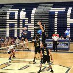 Bishop Moore Catholic High School Boys Varsity Volleyball beat Dr. Phillips High School 3-0