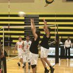 Bishop Moore Catholic High School Boys Varsity Volleyball beat Winter Park High School 3-1