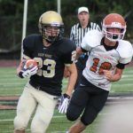Freshman Football Shuts Out Harmony in a Weather Shortened Game