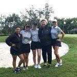 Girls' Golf Beats Trinity Prep