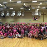 Girls' Volleyball Wins the Dig Pink 9th Annual Showdown
