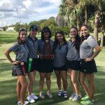 Girls' Golf District Champions