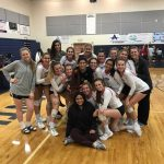 Girls' Volleyball Wins the District Championship