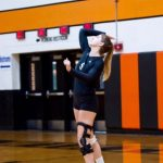 Girls' Volleyball Holds Court in the Region Quarterfinal