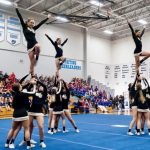 Competition Cheer Squad Takes 1st Overall Last Weekend at the Hagerty Competition
