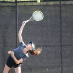 Girls' Tennis Slams Mt. Dora