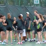 Boys' and Girls' tennis teams open up district play with wins over Eustis
