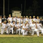 Varsity Baseball Defeats University