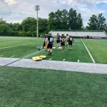 Fall Sports begin Practice — Football