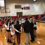 Girls Varsity Volleyball defeated Poinciana 3 – 0