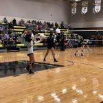 Girls Varsity Volleyball beats Trinity Catholic 3 – 2