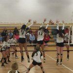 Girls Varsity Volleyball beats Cardinal Gibbons 2 – 1