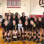 Girls Varsity Volleyball Beats Cardinal Mooney 2 – 0