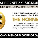 INAUGURAL HORNET 5K SIGN-UP TODAY!
