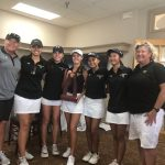 Girls Varsity Golf Wins The District Championship