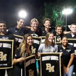 Boys Varsity Swimming Defeats Lake Mary Prep on Senior Night