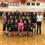 Girls Varsity Volleyball beats Eustis 3 – 0 to Win the District Championship