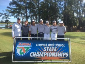 Boys and Girls Golf at State Tournament at Mission Inn