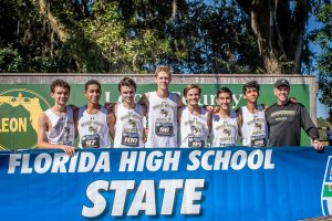 2018 Cross Country at FHSAA State Meet at Apalachee Regional Park, Tallahassee