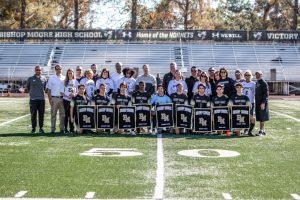 Boys' Soccer Senior Day 2019