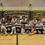 Boys Basketball Topples Trinity Prep on Senior Night
