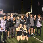Boys Varsity Track finishes 1st place at Larry Kelly Invite on-SENIOR NIGHT