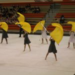 Winter Guard Finishes 5th at the University High School Titan Spectacular