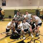 Boys Varsity Volleyball beats Spruce Creek 3 – 0 on Senior Night
