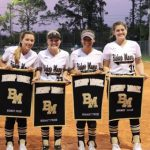 Girls Varsity Softball beats Lake Nona 3 – 2 on Senior Night