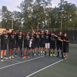 Boys Varsity Tennis beats Eastside 4 – 3 to Win the Region