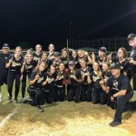 Girls Varsity Softball beats Taylor 8 – 0 to win the District Championship