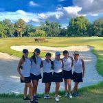 Girls Varsity Golf beats Harmony 166 – 201
