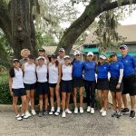 Girls Varsity Golf falls to The First Academy 135 – 164