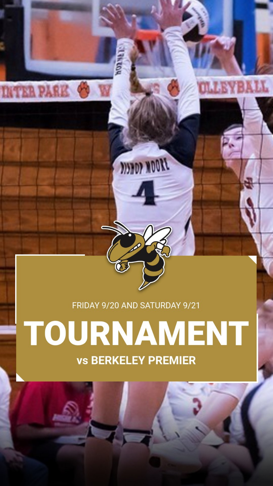 Girls Volleyball Headed to Tampa Friday and Saturday for Berkeley Premier Tournament