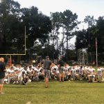 Boys Freshman Football beats Orangewood Christian School 15 – 12
