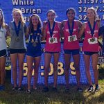 Girls Varsity Cross Country finishes 11th place at Windermere Invite