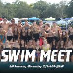 Swimming Heads to Lake Highland Wednesday at 4:30