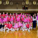 Girls Volleyball Celebrates Dig Pink for Breast Cancer Awareness