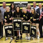 Girls Volleyball Senior Night 2019