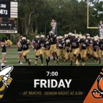Varsity Football to Take on Leesburg Friday Night With Senior Night Starting at 6:30