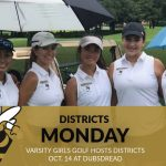 Girls Golf to Host Districts Monday at Dubsdread Golf Club