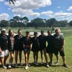 Girls Varsity Golf finishes 1st place at District Tournament