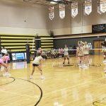Girls Varsity Volleyball beats Montverde Academy 3 – 0