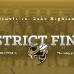 Girls Volleyball Heads to District Final Thursday 7:00 at LHP