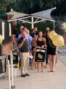 Swimming Senior Night 2019