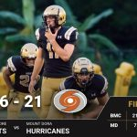 Varsity Football Defeats Mt. Dora in Final Regular Season Game