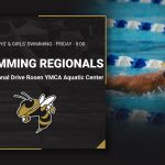 Swim Teams Head to Regionals – Friday – I-Drive YMCA – 8:00 am